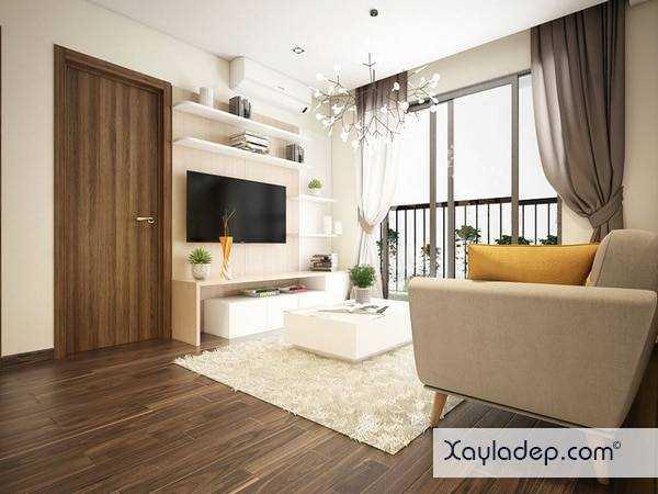 Ánh sáng tự nhiên là cách trang trí đơn giản nhưng hiệu quả cho phòng khách