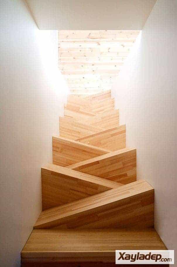 14 | các kiểu cầu thang gỗ đẹp
