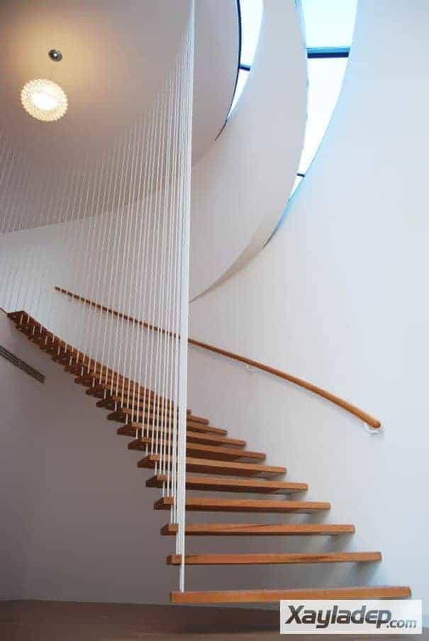 15 | Những mẫu cầu thang gỗ đẹp