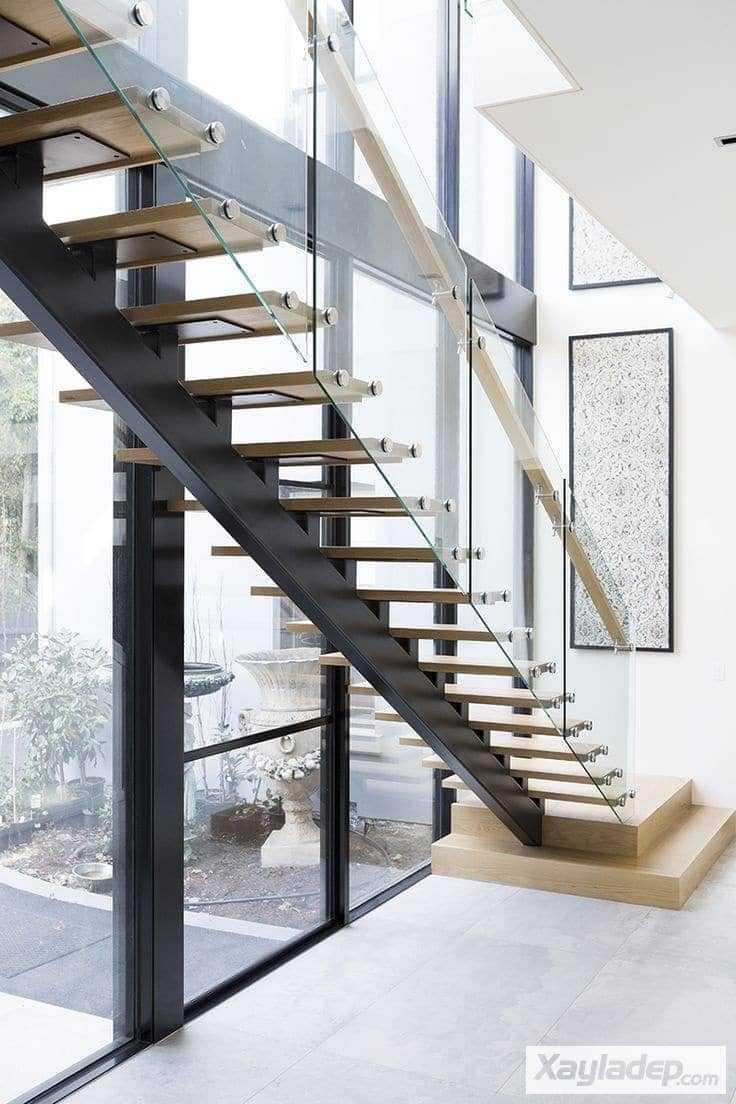 2 | Mẫu cầu thang gác lửng đẹp