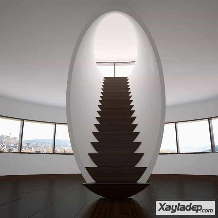 4 | Mẫu cầu thang gác lửng đẹp