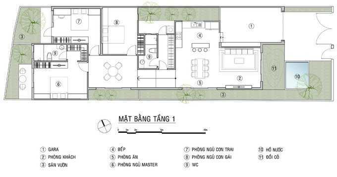 nhà cấp bốn, Xây nhà cấp bốn 3 phòng ngủ với kinh phí 800 triệu đồng, Nhà đẹp