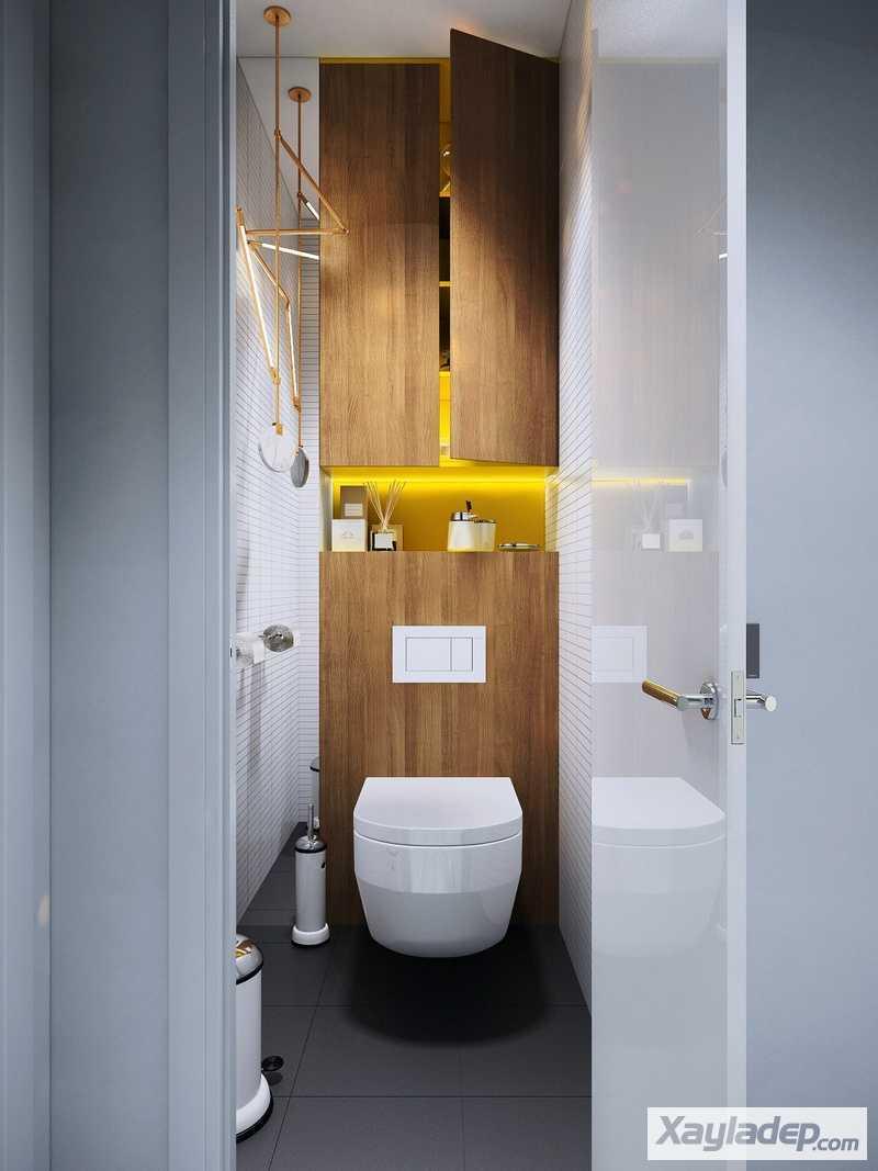Các mẫu thiết kế nhà vệ sinh đẹp 15