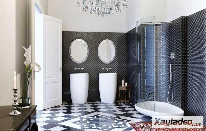 Các mẫu thiết kế nhà vệ sinh đẹp 16