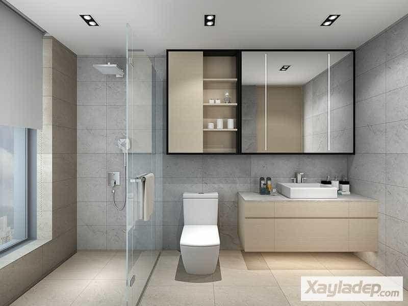 Các mẫu thiết kế nhà vệ sinh đẹp 18
