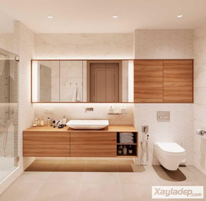 Các mẫu phòng tắm đẹp hiện đại đơn giản 20