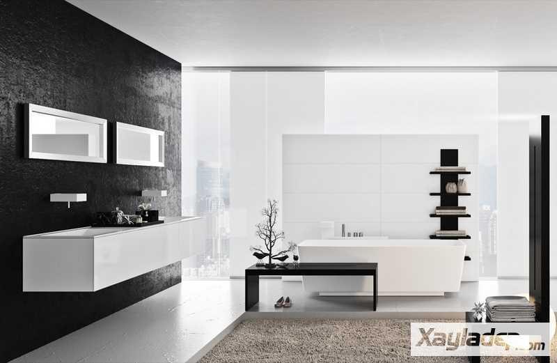 Các mẫu phòng vệ sinh đẹp hiện đại đơn giản và ấn tượng 25