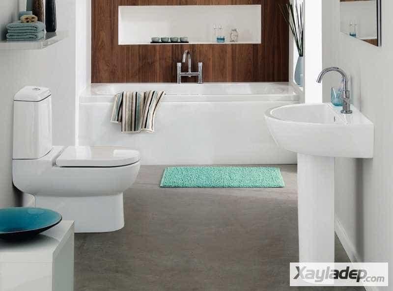 Các mẫu phòng vệ sinh đẹp hiện đại đơn giản và ấn tượng 27