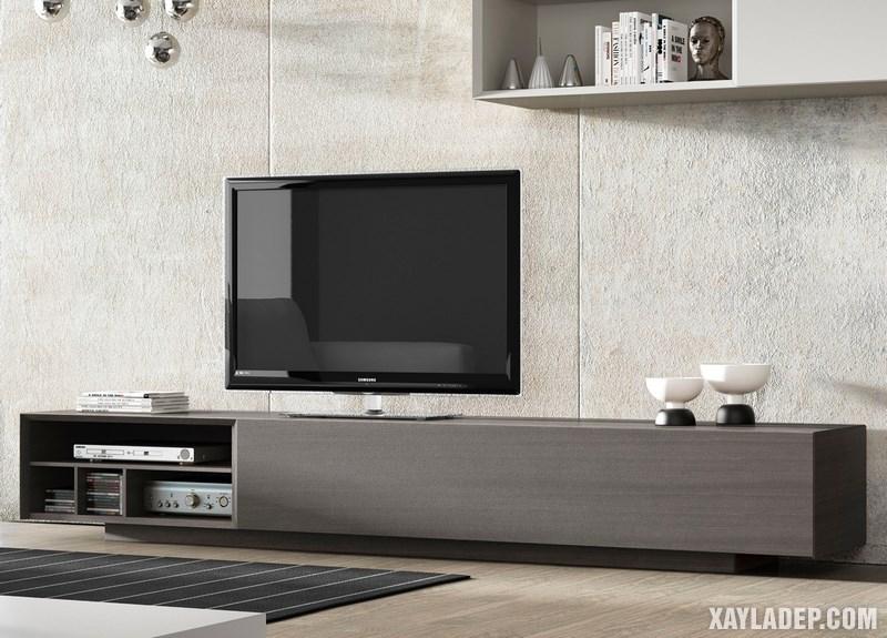 Mẫu kệ tivi hiện đại cho phòng khách chung cư, nhà ống, biệt thự. Ảnh 2