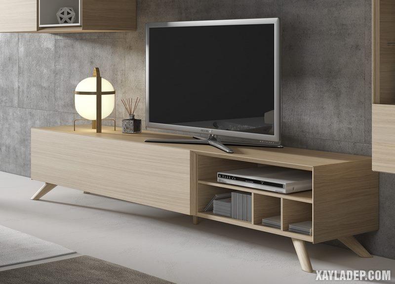 Mẫu kệ tivi hiện đại cho phòng khách chung cư, nhà ống, biệt thự. Ảnh 4