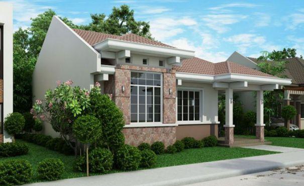 , Bản vẽ nhà cấp 4 mái thái đẹp kích thước 11×12,8m, Nhà đẹp