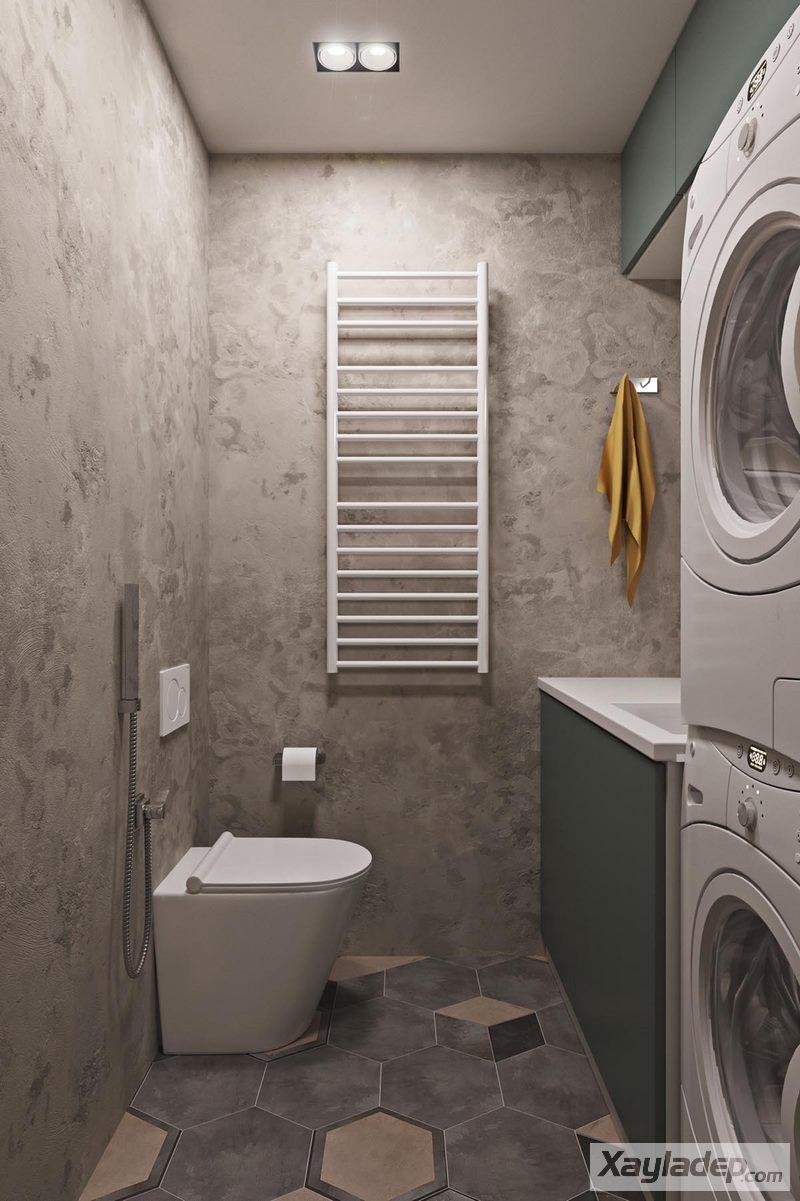 , Căn hộ chung cư 60m2 với thiết kế hiện đại và trang nhã, Nhà đẹp
