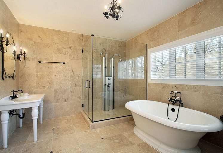 Gạch men là lựa chọn tốt nhất cho phòng tắm
