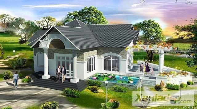 mẫu nhà cấp 4 đẹp, 20 Mẫu nhà cấp 4 đẹp giá từ 150, 200, 250 đến 500 triệu đồng, Nhà đẹp