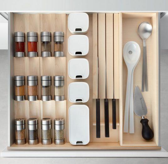 , Tủ bếp hiện đại giải pháp hoàn hảo giúp kiệm tối đa không gian lưu trữ, Nhà đẹp