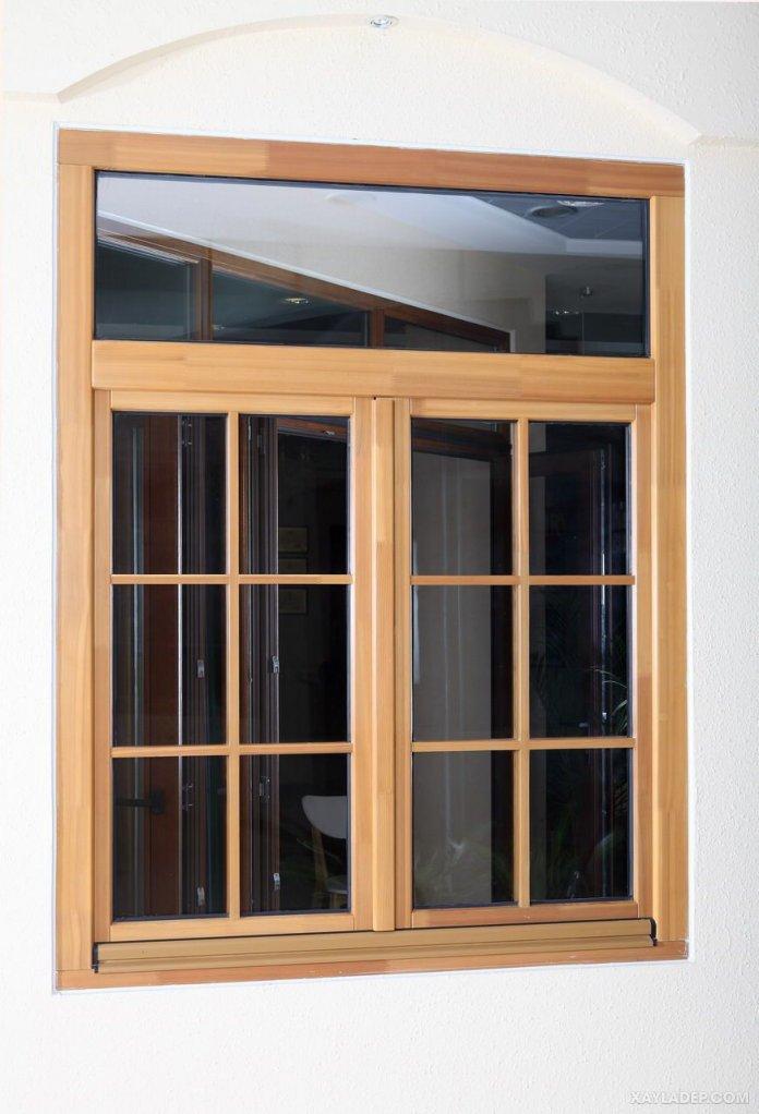 Mẫu cửa sổ gỗ 2 cánh đẹp 2021