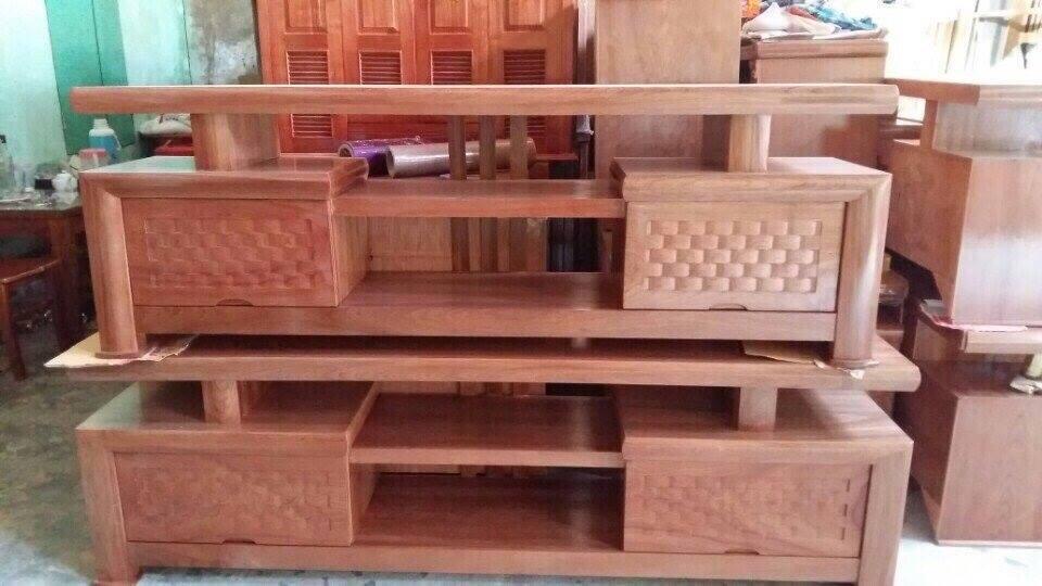 42 | kệ tivi gỗ tự nhiên giá rẻ