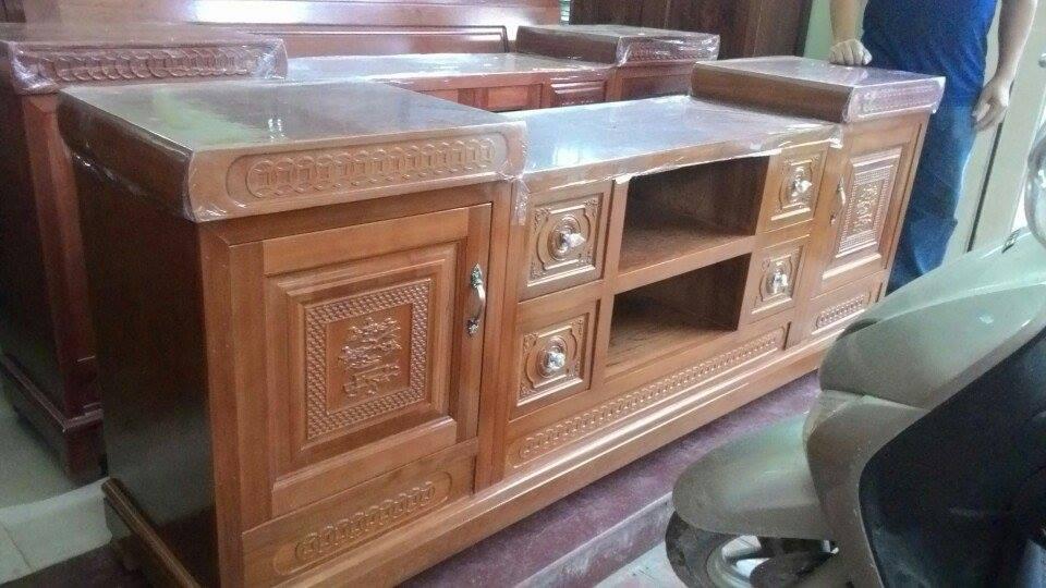32 | các mẫu kệ tivi đẹp bằng gỗ
