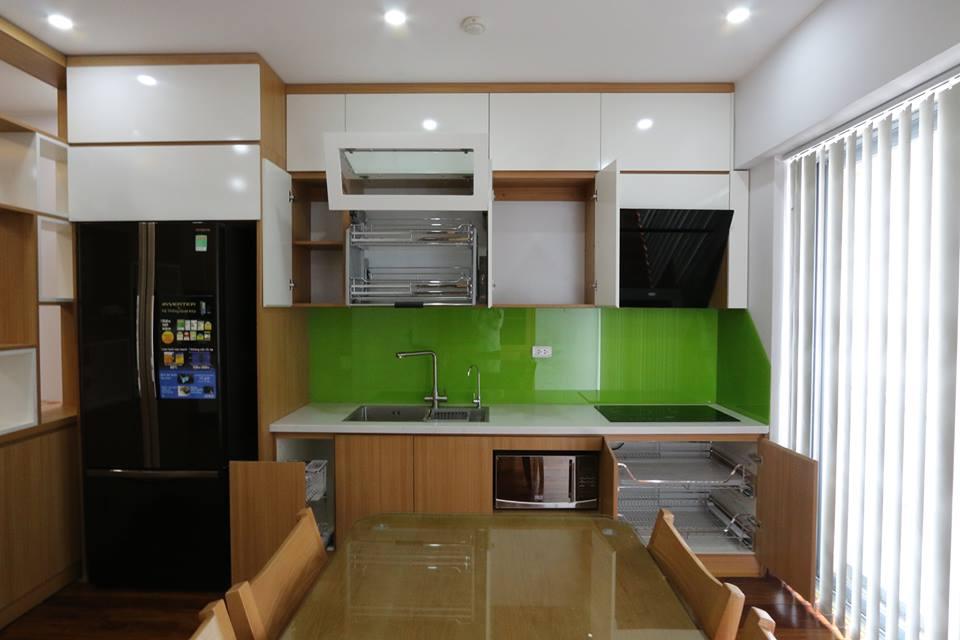 Thiết kế thi công nội thất chung cư 70m2 với kinh phí 195 triệu đồng noi that chung cu 70m2 2