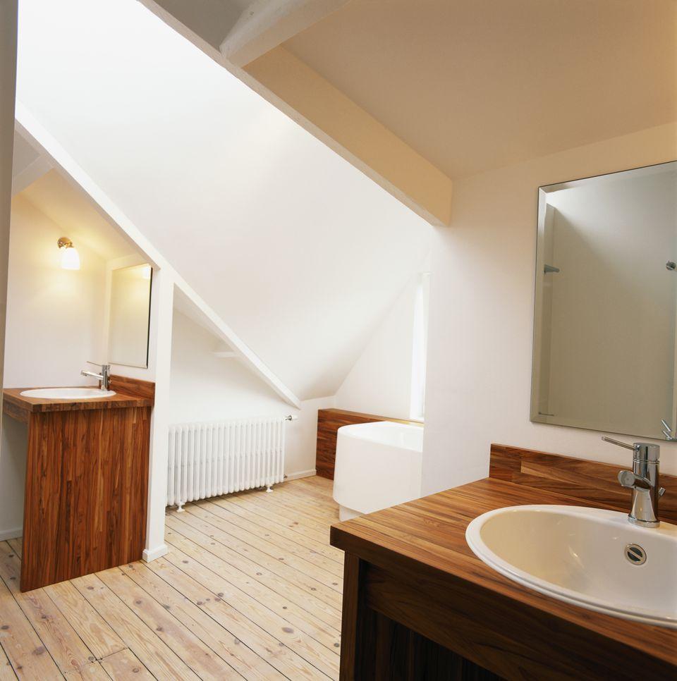 , Trang trí gỗ trong phòng tắm của bạn, tại sao không?, Nhà đẹp