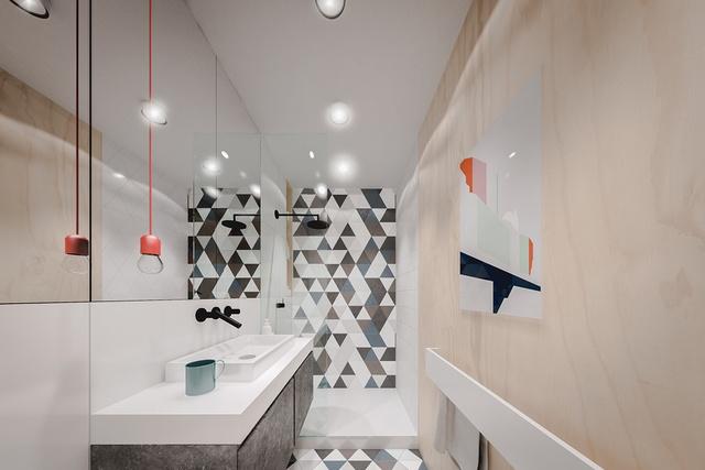 chung cư 20m2, Tư vấn thiết kế nội thất căn hộ chung cư 20m2 dành cho 2 người, Nhà đẹp