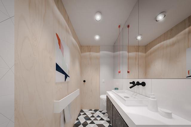 chung cư 20m2, Tư vấn thiết kế nội thất căn hộ chung cư 20m2 dành cho 2 người, Nhà đẹp, Nhà đẹp