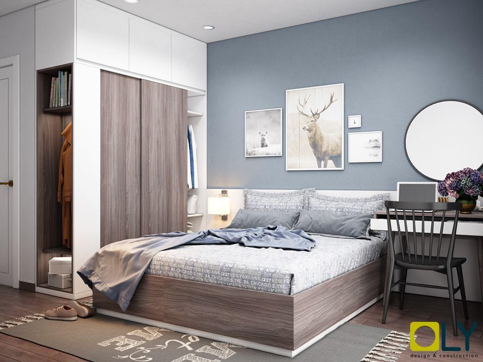nội thất chung cư Goldmark City, Thiết kế thi công nội thất chung cư Goldmark City diện tích 87m2, Nhà đẹp, Nhà đẹp
