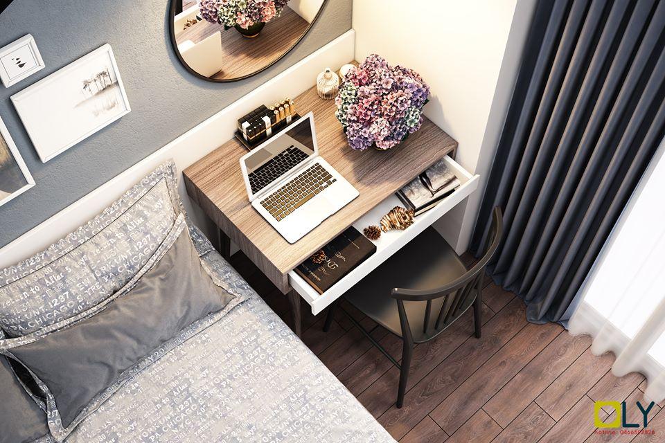 nội thất chung cư Goldmark City, Thiết kế thi công nội thất chung cư Goldmark City diện tích 87m2, Nhà đẹp