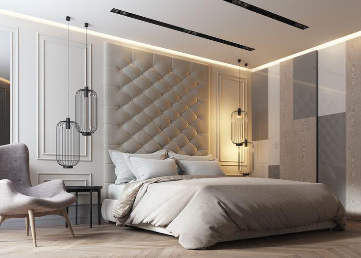 Hình 3: Mẫu trần nhà đẹp phòng ngủ sang trọng