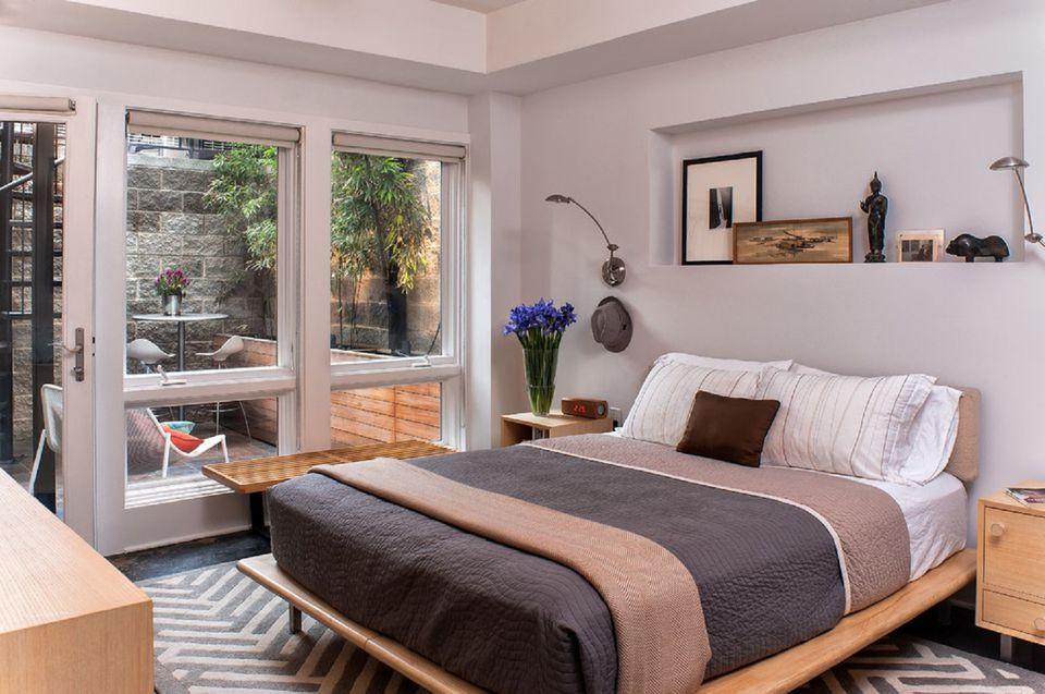 trang-tri-phong-ngu-nho-4 10 Ý tưởng trang trí phòng ngủ nhỏ tiết kiệm từng cm2 diện tích