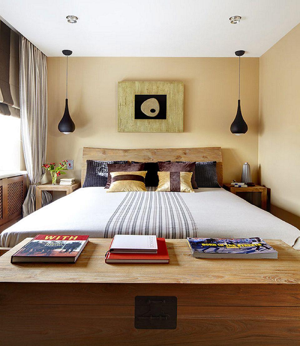 trang-tri-phong-ngu-nho-9 10 Ý tưởng trang trí phòng ngủ nhỏ tiết kiệm từng cm2 diện tích