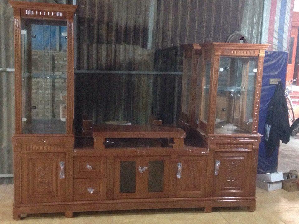 Hình 14: Tủ tivi kèm tủ rượu