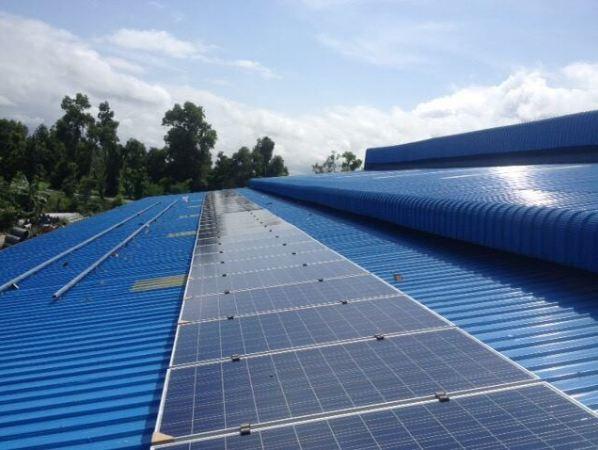 Hệ thống điện mặt trời nối lưới của SolarBK tại ICD Sóng Thần