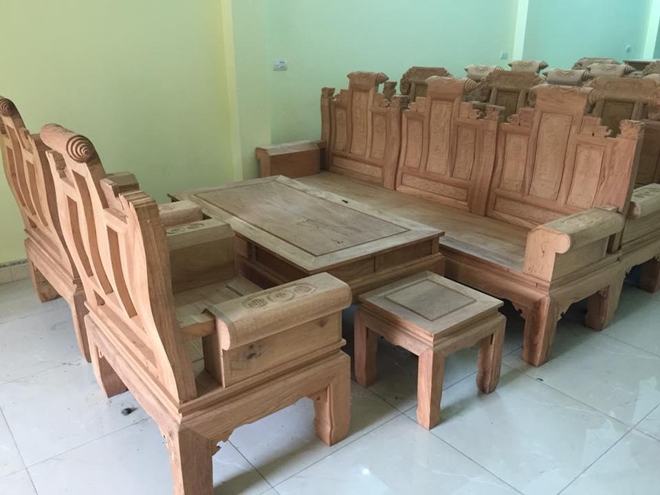 10 bộ bàn ghế phòng khách đẹp sang trọng và đẳng cấp nhất 2018