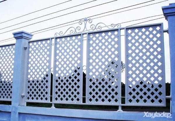10 | Các mẫu hàng rào đẹp