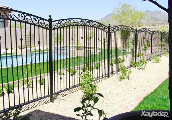 11 | Mẫu hàng rào đẹp cho nhà cấp 4