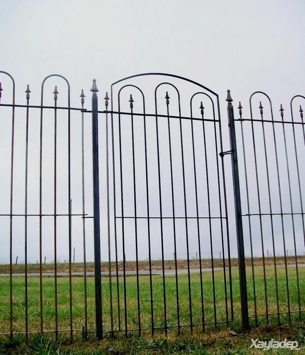 16 | Hàng rào đẹp đơn giản cho nhà cấp 4 nông thôn