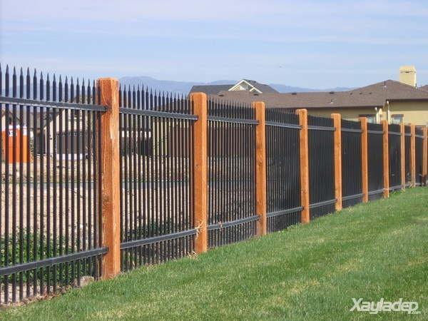 5 | Mẫu hàng rào sắt hộp đẹp