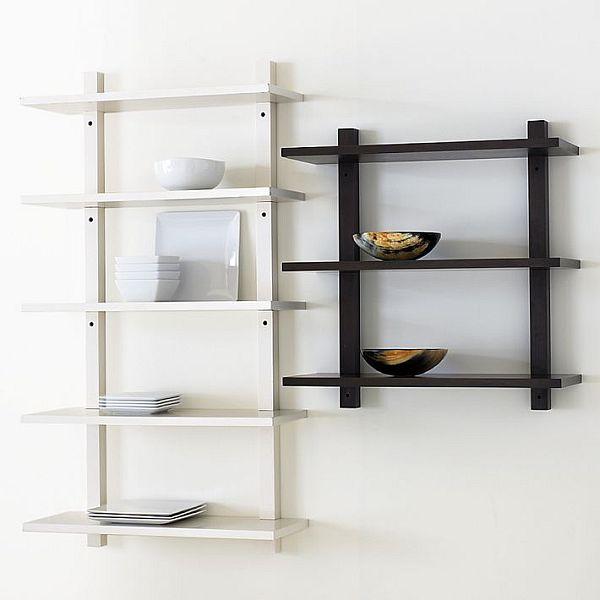 kệ sách treo tường, 33 Mẫu kệ sách treo tường đẹp, đơn giản, hiện đại bằng gỗ 2020, Nhà đẹp