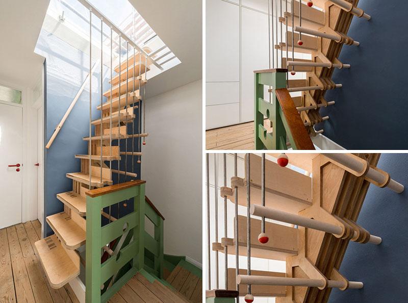 cầu thang đẹp, 50 Mẫu cầu thang đẹp cho nhà ống bằng gỗ, kính, sắt nghệ thuật, Nhà đẹp