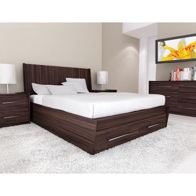 20 Mẫu Giường Gỗ đẹp đơn giản trong các Mẫu Giường Đẹp nhất 2018. Mẫu 15