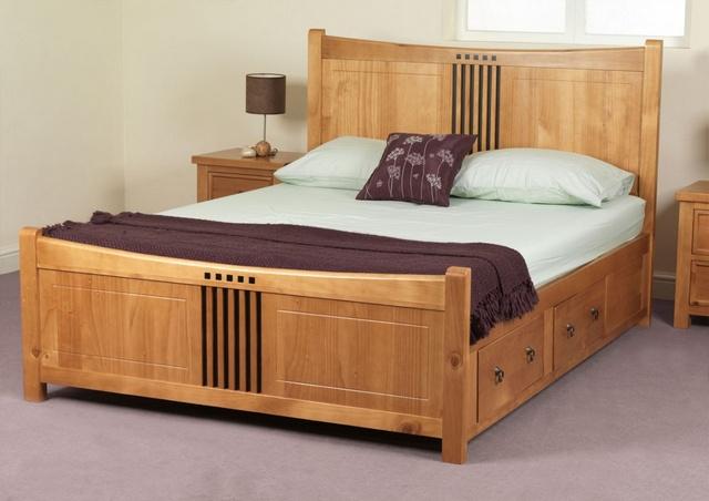 20 Mẫu Giường Gỗ đẹp đơn giản trong các Mẫu Giường Đẹp nhất 2018. Mẫu 06