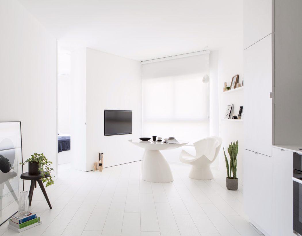 , Căn hộ 42m2 tận dụng tối đa diện tích mặt sàn và ánh sáng tự nhiên, Nhà đẹp