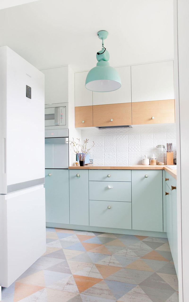 bếp tông xanh