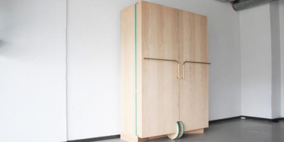 , Đây là chiếc tủ quần áo biết đi, bạn có tin đó là sự thật?, Nhà đẹp