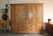 tủ quần áo gỗ, 15 Mẫu tủ quần áo gỗ đẹp hiện đại giá chỉ từ 2 triệu đồng, Nhà đẹp, Nhà đẹp