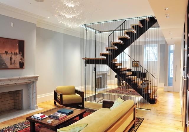 1 | Mẫu vách ngăn cầu thang đẹp