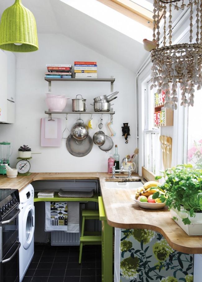 , 20 Ý tưởng tuyệt vời cho phòng bếp nhỏ, Nhà đẹp
