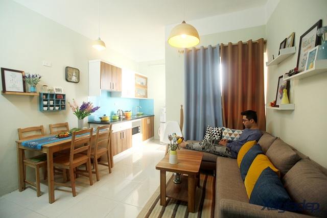 Hoàn thiện nội thất căn hộ chung cư 60m2 chỉ với 100 triệu đồng