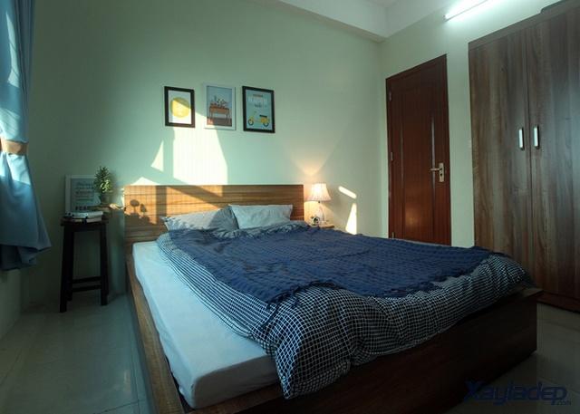 nhà chung cư đẹp 60m2, Hoàn thiện nội thất căn hộ chung cư 60m2 chỉ với 100 triệu đồng, Nhà đẹp